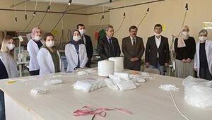 Hedef: 1 milyon maske 500 bin lira dezenfektan