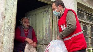Emre Belözoğlundan Maçkadaki ihtiyaç sahiplerine 80 bin TLlik yardım