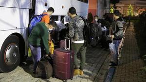 Denizlide karantina süresi dolan 171 kişi evlerine uğurlandı