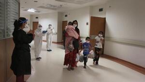 5,5 aylık Semanur ve 9 yakını koronavirüsü yendi