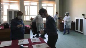 Elazığsporda koronavirüs testi yapıldı
