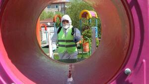 Talasta parklar çocukları bekliyor