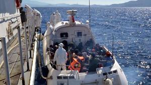 Yunanistanın geri ittiği kaçak göçmenler kurtarıldı