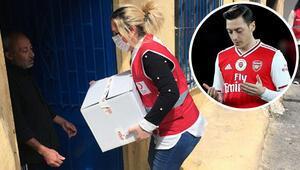 Mesut Özil'in bağışı ihtiyaç sahiplerine ulaştırıldı