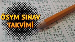 MSÜ 2020 sınavı ne zaman ÖSYM sınav takvimi