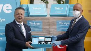 Türkiye Tanıtım Grubundan Made in Türkiye logolu hijyen kitli tanıtım