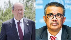 KKTC Başbakanı Tatardan DSÖ Genel Direktörü Ghebreyesuse mektup