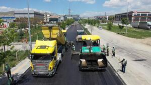 53 bin 716 ton asfalt serildi