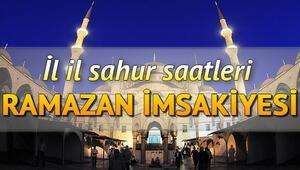 Sahur saatleri 13 Mayıs 2020 İmsakiye: Sahur vakti ezan ne zaman okunacak İstanbul, Ankara İzmir imsak vakitleri