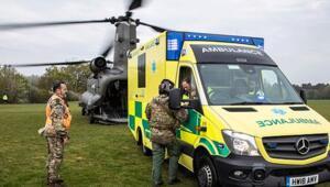 İngilterede orduya corona virüsten korunmak için sinek spreyi dağıtıldı