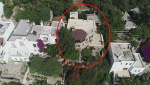 Firari Can Dündarın villasının 188 metrekarelik kısmı hazine arazisinde çıktı
