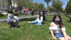 Kırşehirde çocukların sokak mutluluğu