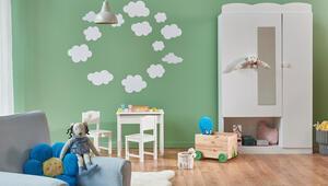 Renkler psikoloji üzerinde etkili Çocuk odasını boyarken…
