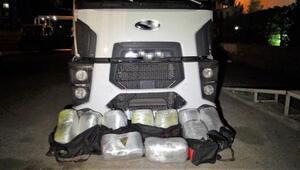 Diyarbakırda, terör örgütüne operasyonda 327 kilo esrar ele geçirildi