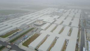 Atatürk Havalimanında yapılan salgın hastanesindeki son durum