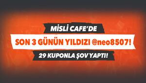 Misli Cafenin yeni yıldızı neo8507 Son 3 günde 29 iddaa kuponu ile şov yaptı...