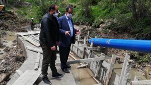 Adilcevaz Belediyesinden tarımsal sulama kanalı projesi