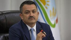 Tarım ve Orman Bakanı Bekir Pakdemirliden çiftçiler için alkış çağrıs