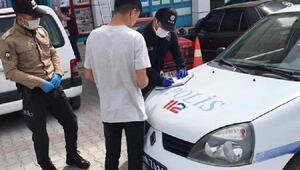 Emet'te maske takmayan 18 kişiye 7 bin lira ceza