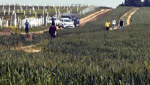 Tekirdağa tarla yollarından gelmek isteyenler jandarmaya yakalandı