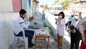 Vali Şıldak ve protokolden engellilere ziyaret