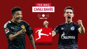 Bundesliga geri dönüyor, hem de derbiyle Dortmundun galibiyetine iddaada...