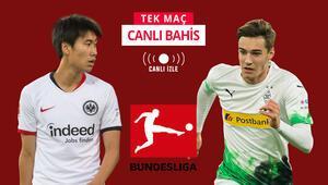 Bundesliga maçları Misli.comda kesintisiz CANLI Frankfurt-Gladbach maçına iddaada...