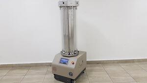 Meslek lisesinden dezenfeksiyon robotu