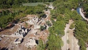 Olimpos Antik Kentinde kazı çalışmaları haziranda başlıyor