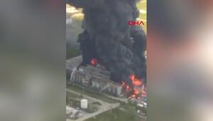 İtalyanın Venedik kentinde kimyasal fabrikada patlama