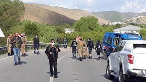 Erzincandaki EYPli saldırıya 7 gözaltı