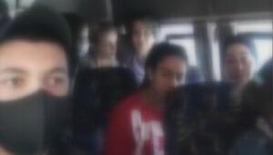 Bağcılarda 26 yolcu taşıyan minibüs şoförüne 9 bin lira para cezası