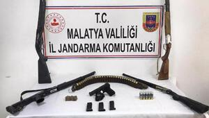 Malatyada silah kaçakçılığına 3 gözaltı