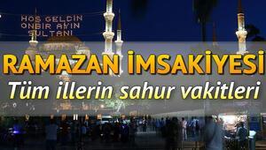 Sahur saatleri 2020 Sahur vakti ezan ne zaman okunuyor, sahur kaçta (16 Mayıs) İstanbul Ankara İzmir il il sahur vakitleri