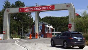 Dereköy Sınır Kapısının yaya geçişlerine kapatıldığı açıklandı