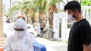 Hataysporda ikinci koronavirüs testi