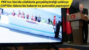 Son dakika haberi: Cumhurbaşkanı Erdoğandan HDP ve CHPye çok sert tepki