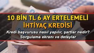 Vakıfbank Ziraat Bankası Halkbank kredi sorgulama ekranı: Temel İhtiyaç Kredisi başvuru sonuçları açıklandı mı