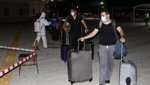 ABDden getirilen 145 kişi, Burdurda karantinaya alındı