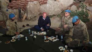 Cumhurbaşkanı Erdoğan, Bakan Soylu ile görüşerek askerlerin bayramını kutladı