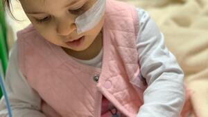 Minik Liya'nın yaşaması kök hücre bağışına bağlı
