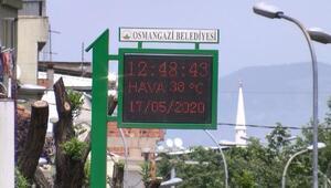 Bursada 75 yılın sıcak rekoru