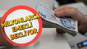 Emekli maaşları ne zaman yatacak Bağkur SSK ve memur emekli maaşları mayıs ayının kaçında ödenecek