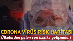 Corona virüs (Covid 19) vaka ölüm sayıları risk haritası 20 Mayıs - Coronavirüs Türkiye ve dünya günlük tablosu