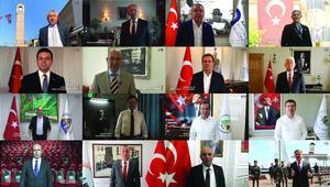 22 belediye başkanıyla tarihi yolculuk