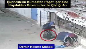 Kümesten güvercin hırsızlığı şüphelisi kameradan belirlenip, yakalandı