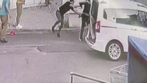 Maltepede fırıncılara silahlı saldırı güvenlik kamerasında