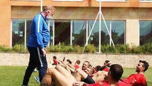 Kayserisporda Süper Lig hazırlıkları sürüyor