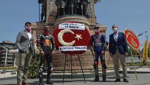 19 Mayıs Atatürkü Anma Gençlik ve Spor Bayramında İstanbulda Atatürk Rallisi düzenlendi.