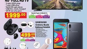 A101 21 Mayıs 2020 aktüel ürünler kataloğu içerisinde Samsung ürünleri ön planda yer alıyor